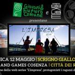 L'Impresa di Giovani e Futuro Comune al Cosenza Comics and Game